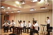 The Hong Kong students were performing in a sharing of musical skills session at China Conservatory.