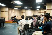 Hong Kong students were attending Erhu lesson at Central Conservatory of Music Middle School