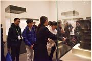 Students were visiting National Museum of China.
