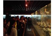 Students were visiting the Hanyangling Museum.