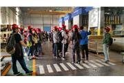 Students were visiting Shanxi Automobile Group Co. LTD.