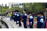 The students leant about the sewage treatment process through visiting a sewage treatment plant.