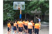 Students were visiting Changban Primary School in Guangzhou.